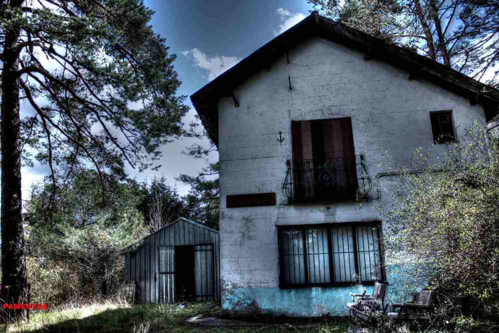 Chalets abandonados.Sierra de Madrid (4/6)