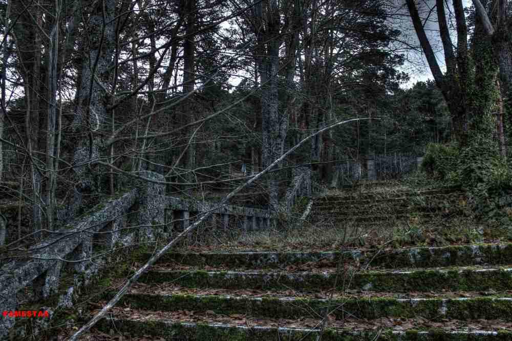 Chalets abandonados.Sierra de Madrid II (3/6)