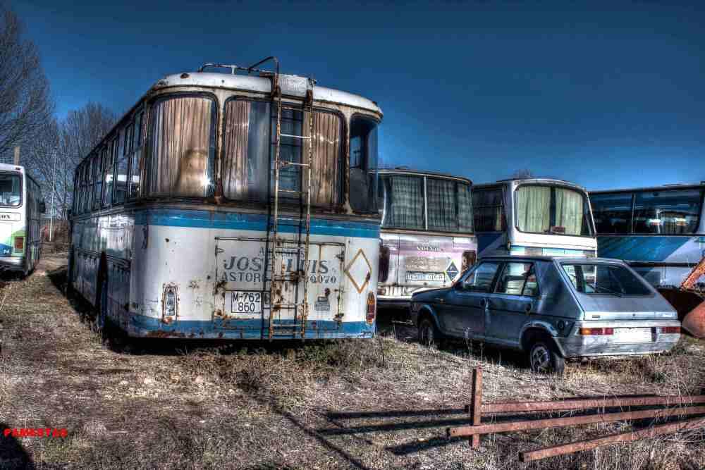Deposito de antiguos Autobuses. (4/6)