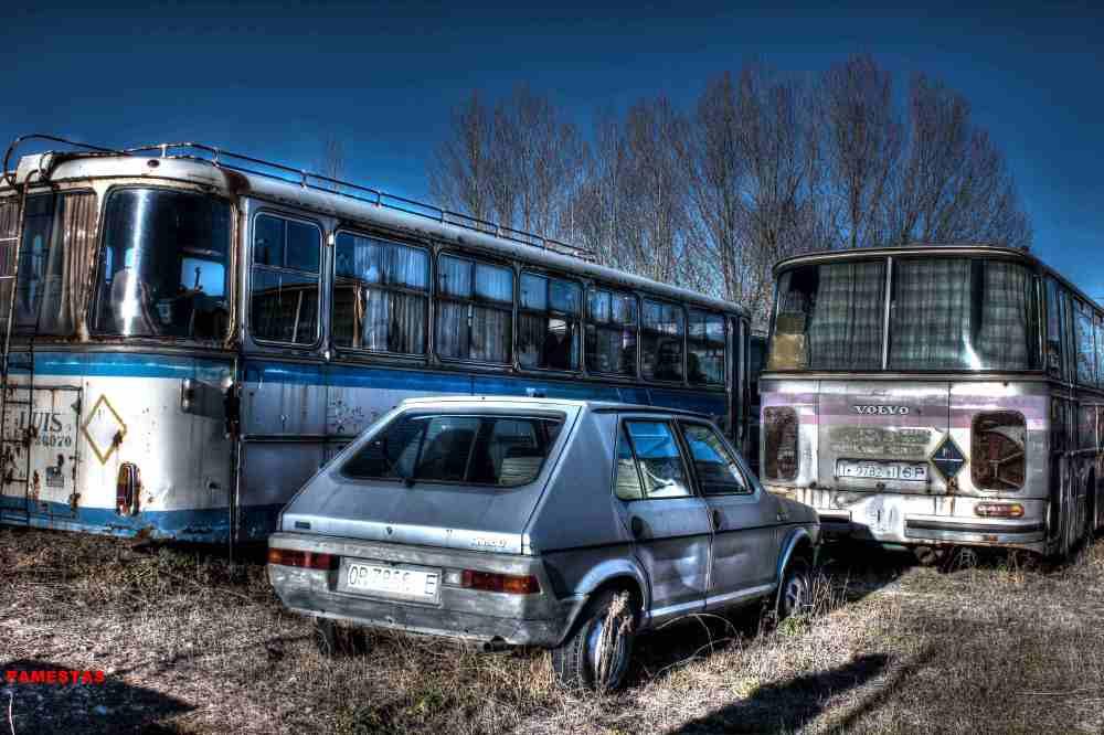 Deposito de antiguos Autobuses. (5/6)