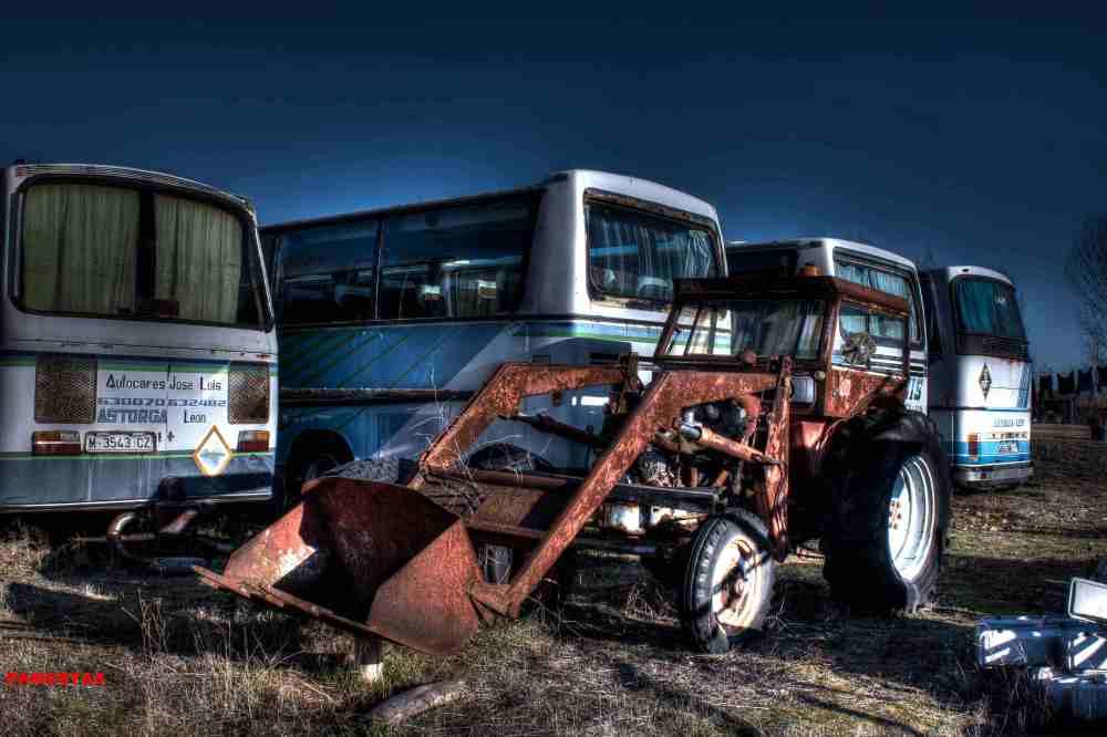 Deposito de antiguos Autobuses. (6/6)