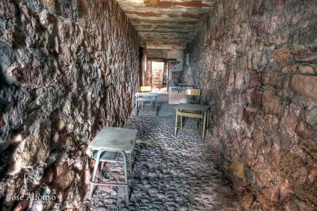 Abandoned castrle, Riba de Santiuste , Guadalajara, Spain