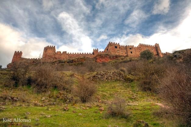 Riba de Santiuste castle, Guadalajara, Spain
