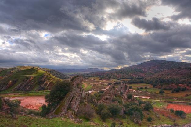 Landscape, Guadalajara, Spain