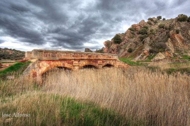 Medieval bridge, Guadalajara, Spain