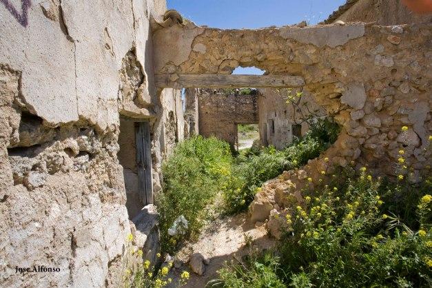 Poblado de Oreja, Toledo, Spain. Abandoned building